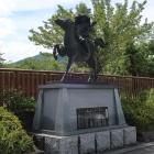 大塔宮護良親王の騎馬像