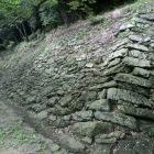 一中門跡の石垣