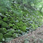 吉野口郭の石垣