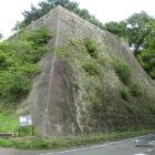 不明門跡の高石垣