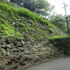 不明門跡の石垣