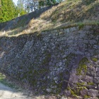 本丸東側の高石垣