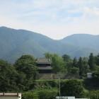 新幹線で上田城