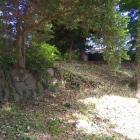 東仙院跡地には石垣も
