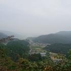 城から東側の眺望